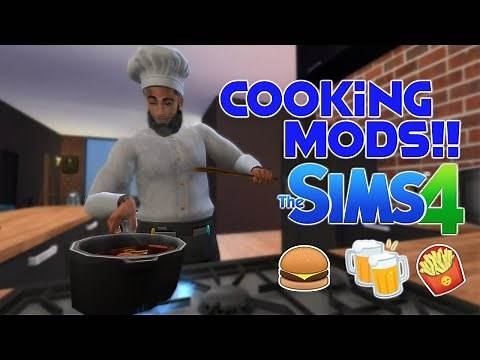 MORE FOODS FOR YOUR SIMS | Sims 4 Custom Food Mods // The Sims 4 Mods