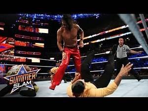 Shinsuke Nakamura decimates The Singh Brothers: SummerSlam 2017 (WWE Network Exclusive)
