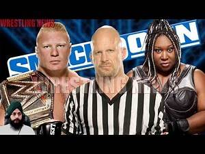 Special Guest Referee Stone Cold Brock Lesnar vs Kharma