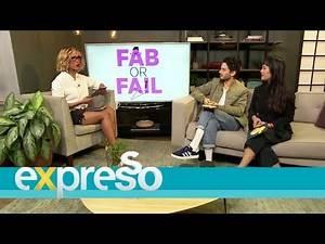 Fashion Fix Fab or Fail: Milan Fashion Week