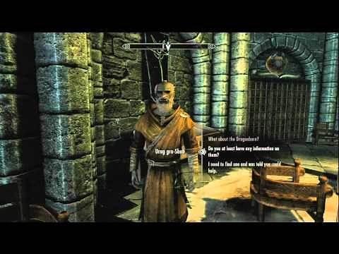 The Elder Scrolls V Skyrim HD Walkthrough Episode 240-Learning the Elder Scrolls Location!