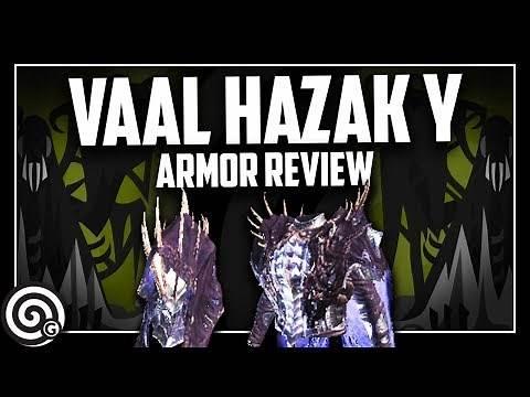 VAAL HAZAK GAMMA - Armor Set Review | Monster Hunter World