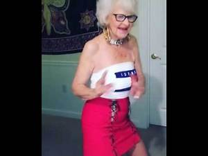 Old Lady Dancing Funny