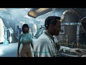 Fallout 4 Motoko Kusanagi Ghost in the Shell mod skin #1
