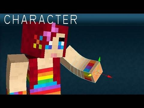 Make Your Own Minecraft Character in 3D