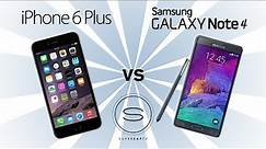 iPhone 6 Plus vs Samsung Galaxy Note 4 - SuperSaf TV