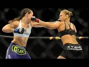 Ronda reacts to her epic KO against Alexis Davis