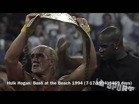 EVERY WCW CHAMPION (1991-2001)