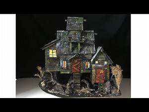 DIY Witch House Using Cardboard!