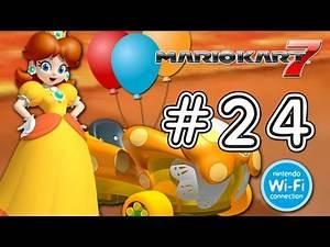 """Mario Kart 7 3DS / Online: """"Subscriber Battle"""" Wuhu Town, Honeybee Hive, Sherbet Rink, Big Donut"""
