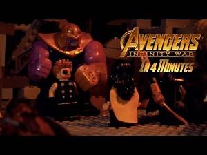 LEGO Avengers: Infinity War in 4 Minutes