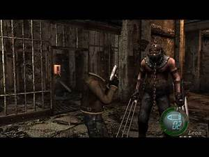 Resident Evil 4 UHD - How many heads does Leon have?