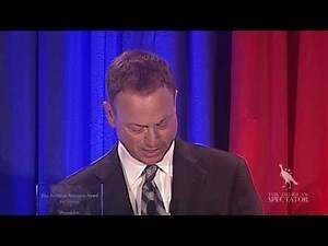 Gary Sinise Accepts Award for Service (The American Spectator Robert L. Bartley Gala 2013)