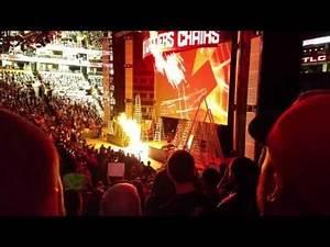 WWE TLC 2015 OPENING PYRO!!