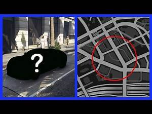 SECRET CAR LOCATION AND ANOTHER GARAGE | GTA V Story Mode
