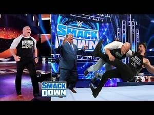 Goldberg Almost Knocked Out During The Attack ? WWE Raw Highlights Today