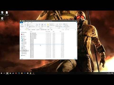 How to Clean Install (Un-Mod) Fallout New Vegas 2019 Tutorial