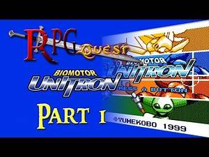 RPG Quest #203: BioMotor Unitron (NGPC) Part 1