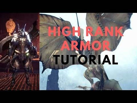 How to get Legiana Gem/Build High Rank Legiana Armor - Monster Hunter World Tutorial