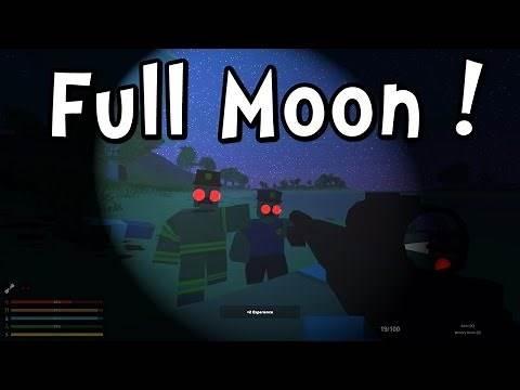 UNTURNED 3 - FULL MOON MADNESS!! (Gameplay / Walkthrough)