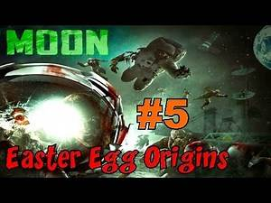 CoD Zombies EASTER EGG ORIGINS - MOON! (Part 5)▐ Call of Duty Black Ops Zombies Map