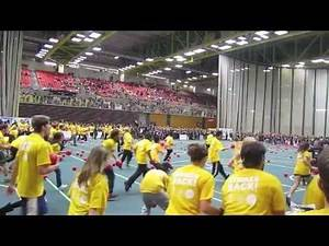 2011 Guinness World Record: Largest Game of Dodgeball (2,012 Players) - University of Alberta