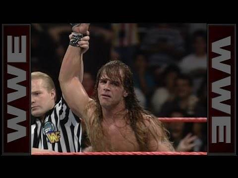 Shawn Michaels wins the 1996 Royal Rumble Match