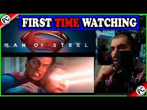 FIRST TIME WATCHING MAN OF STEEL !! (2013) Movie Reaction! Starting the DCeu