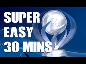 Super EASY PS4 Platinum Trophy - NEW GAME ON PSN!!