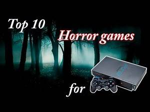 Top 10 best horror games for PS2 playstation 2