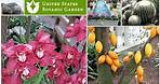 UNITED STATES BOTANIC GARDEN, WASHINGTON DC || Tour of Beautiful Garden & More
