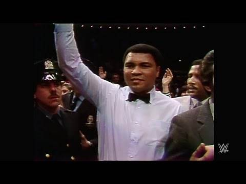 Muhammad Ali makes his presence felt at WrestleMania I