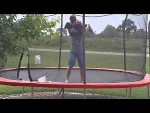 BLOOPERS! Top 50 WWE Finishers of 2013 on Trampoline