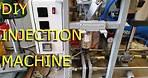 DIY Plastic injection molding machine test