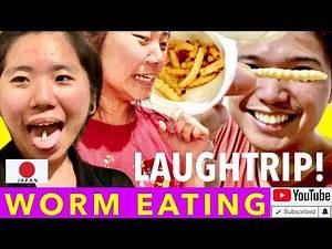 Laughtrip Na Worm Eating Challenge! Vlog #30