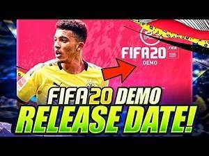 FIFA 20 DEMO RELEASE DATE! POTENTIAL TEAMS?