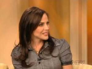 Julie Benz on The View 2008-01-23