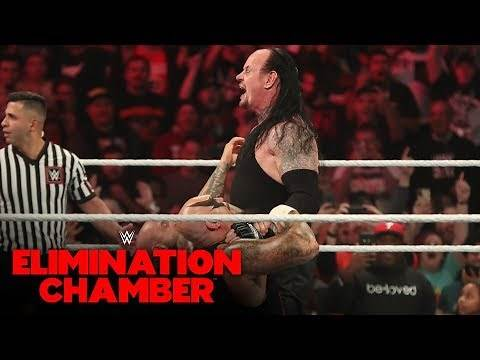 The Undertaker rises to engage The O.C.: WWE Elimination Chamber 2020 (WWE Network Exclusive)
