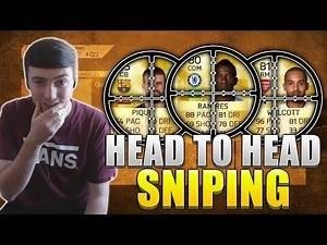 FIFA 16   HEAD TO HEAD SNIPING CHALLENGE vs CAPGUNTOM   SNIPING MIN PRICE PLAYERS