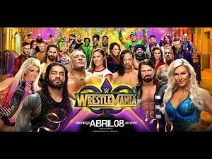Wwe live wrestlemania 34 Sunday night 8 April full match in HD all matches
