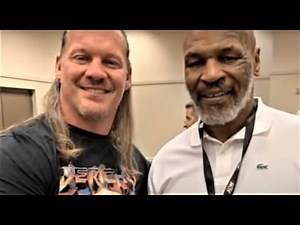Hannibal on the Jericho Mike Tyson Backstage Footage