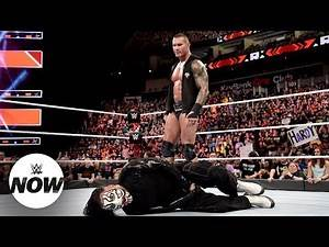 Randy Orton stomps Jeff Hardy in the groin after U.S. Title stunner: WWE Now