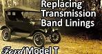 Ford Model T - Replacing Transmission Band Linings