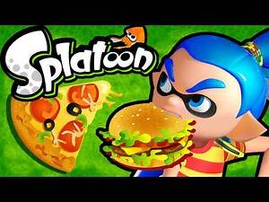 Splatoon Wii U Gameplay Splatfest #8 LIVE! Team BURGERS vs PIZZA Stream Online Gameplay HD 60fps