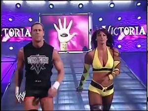 02-16-04 | Trish Stratus and Victoria vs Molly Holly and Jazz | WWE Raw