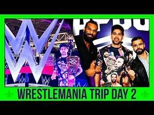 ★Wrestlemania 34 Trip★ Day 2: Wrestlemania Axxess Meeting Jinder Mahal + Many More!!!