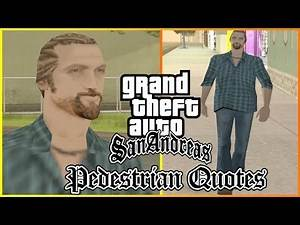 GTA San Andreas Pedestrian Quotes : San Fierro Erratic Hippie (#SWMYHP1)
