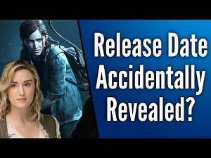 The Last Of Us 2 Release Date Accidentally Revealed by Ellie's Voice Actress Ashley Johnson?
