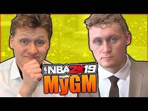 NBA 2K19 MyGM #2 - EXPANSION DRAFT AND FIRST SEASON!