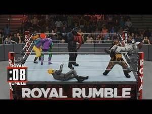 Halloween Royal Rumble (WWE2K18) 10/31/17